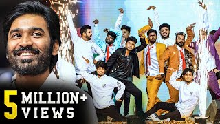 Dhanush's All-time Best Dance Tribute by Sandy &Team! Super Packed Energetic Performance! Vera Level