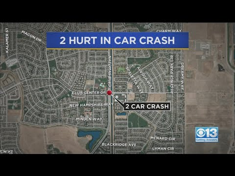 Two People Hospitalized With Critical, Major Injuries After Natomas Intersection Collision