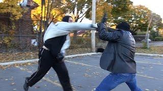 Head Movement & Defensive Techniques vs a Much Taller Attacker
