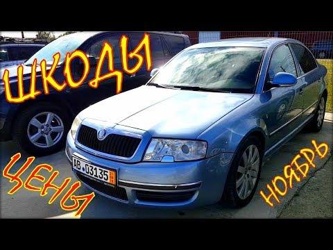 Шкода цена, авто из Литвы ноябрь. видео