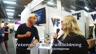 Anders Hansen – VoF på Bokmässan 2019