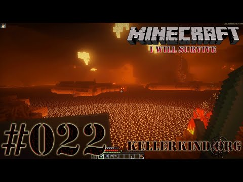 Minecraft: I will survive #022 - Leuchtender Nether ★ Let's Play Minecraft [HD|60FPS]