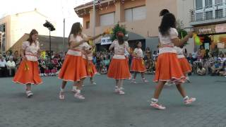preview picture of video 'Mitjans a la Festa Major. Colles Santa Perpètua 2010'