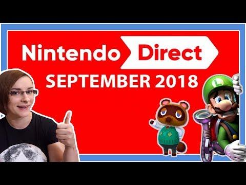 Meine HIGHLIGHTS der Direct! [Nintendo Direct September 2018] (видео)