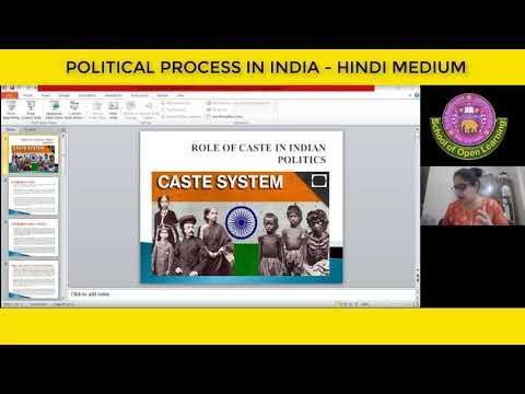POLITICAL PROCESS IN INDIA - HINDI MEDIUM By - AVNEET KAUR