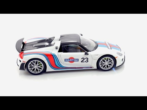 Carrera Digital 132 Porsche 918 Spyder Martini Racing Nr.23 Art.Nr.: 30698