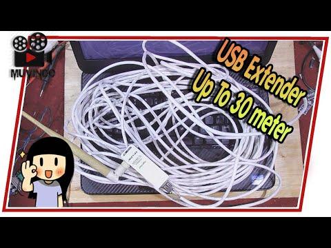 Cara Membuat USB Extender Up to 30 M | Tutorial