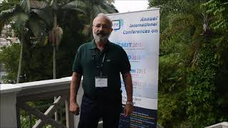 Dr. Danny Seidner at CSEIT Conference 2015 by GSTF