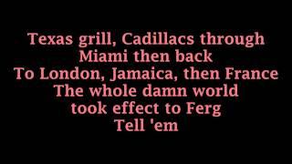 L.A.LOVE (La La) - Fergie (Lyrics)