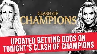 Updated Betting Odds For Tonight's Clash Of Champions
