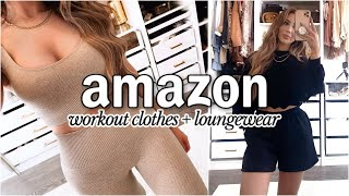 The BEST AMAZON WORKOUT CLOTHES + LOUNGEWEAR