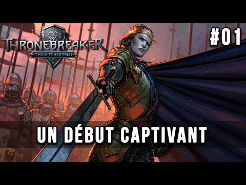 THRONEBREAKER : The Witcher Tales, découverte avec Krayn | Let's Play FR #01