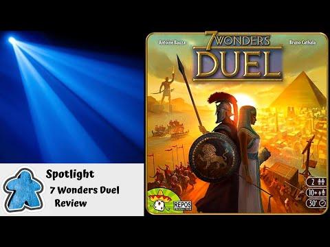 Spotlight - 7 Wonders Duel Review