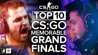 The Top 10 Most Memorable CS:GO Grand Finals