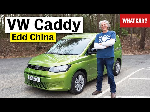 2021 VW Caddy van review with Edd China – a VW Golf dressed as a van? | What Car?