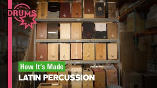 How Cajon Are Made by LP | Home of Drums