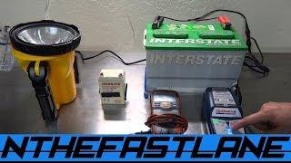 Desulfating & Restoring Gel/Lead Acid Batteries