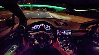 2019 PORSCHE CAYENNE TURBO 4.0 V8   POV NIGHT DRIVE by AutoTopNL
