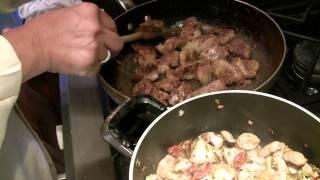 Del - Jegar | Persian Food | Chicken Heart & Liver