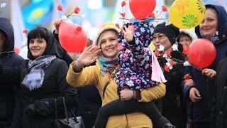 1 мая, шествие, Усть-Каменогорск, yk.kz