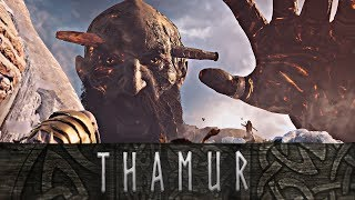 God of War - The Tragic Story of Thamur and Hrimthur // Giant Tales