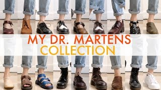 Gambar cover MY DR. MARTENS COLLECTION (2018)