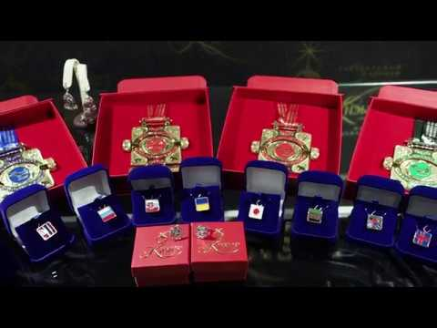 Presentaion of the III Mas-Wrestling World Championship medals