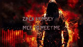 Zack Hemsey - Nice To Meet Me Lyrics