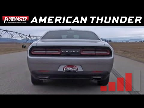 2015-19 Challenger SXT 3.6L - American Thunder Exhaust System 817737