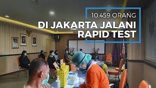 Pemprov DKI Jakarta Jalani Rapid Test 10.459 Orang, 121 Positif Corona