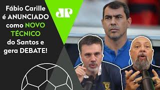 Veja debate sobre Carille, o novo técnico do Santos