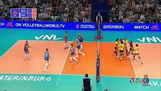 ไทย vs รัสเซีย วอลเลย์บอลหญิง เนชั่นส์ ลีก 2019