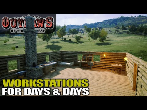 YOU WON'T BELIEVE HOW MUCH STUFF YOU CAN BUILD   Outlaws of the Old West   Gameplay   S01E03