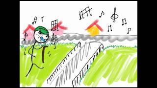 """Video thumbnail of """"Chico Buarque - A Banda - Ilustrado"""""""