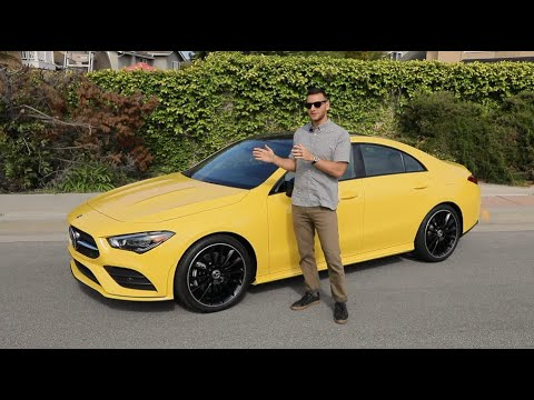 2020 Mercedes Benz CLA250 Test Drive Video Review