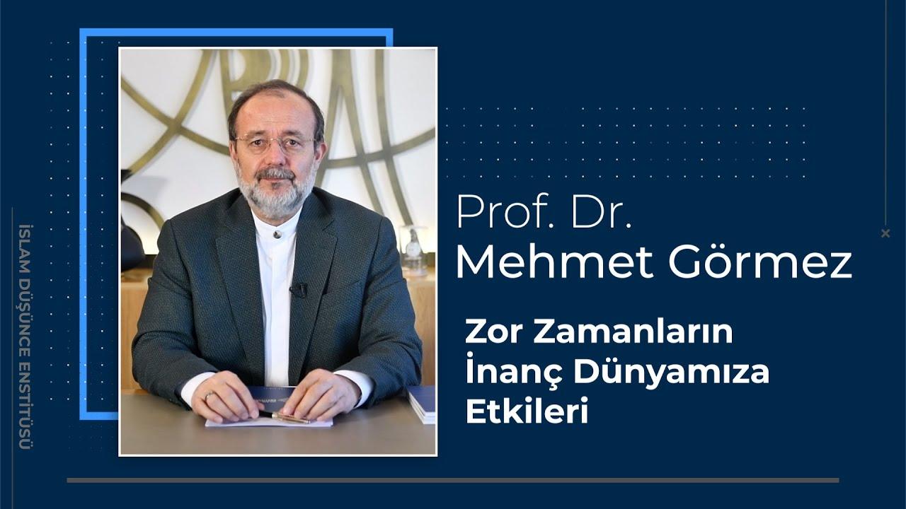 Prof. Dr. Mehmet Görmez 3. Ders: Zor Zamanların İnanç Dünyamıza Etkileri