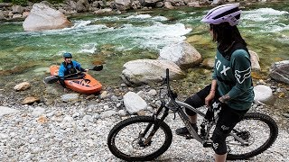 Miss Peaches on the Road: Whitewater Kayaking