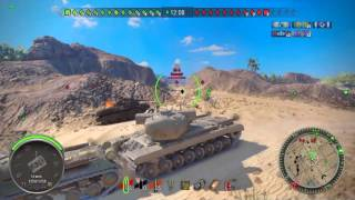 World of tanks PS4 - T29 heavy tank gameplay