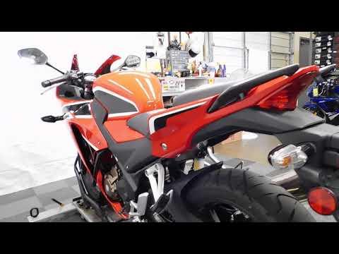 2017 Honda CBR300R in Eden Prairie, Minnesota