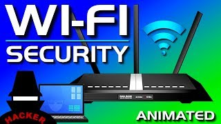 WiFi (Wireless) Password Security - WEP, WPA, WPS Explained