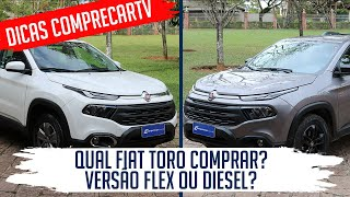 Avaliação: Qual Fiat Toro comprar? Flex ou Diesel