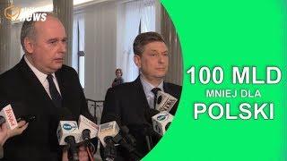 100 mld zł mniej dla Polski w nowym budżecie unijnym.