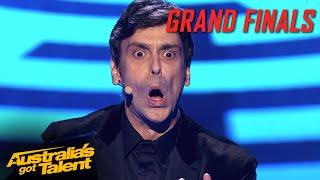 Lioz Has Everyone SHOOK!! | Grand Final | Australia's Got Talent