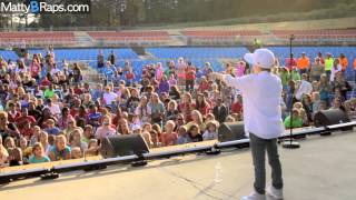 MattyBRaps, MattyB's GirlaPalooza Performance and Vlog!