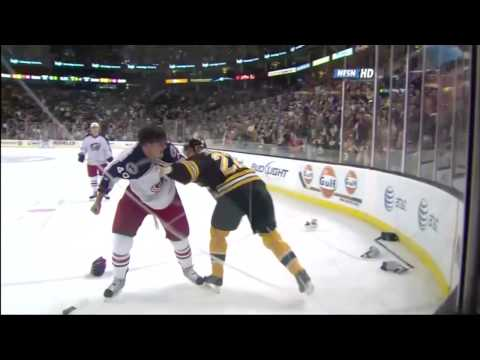 Shawn Thornton vs. Jared Boll
