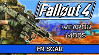Fallout 4 New Weapon Mods - FN SCAR