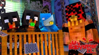 Minecraft My Babysitter Is...... THE BOOGEYMAN!!