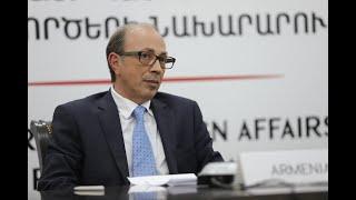 ԱԳ Նախարար Արա Այվազյանի ելույթը ԵԱՀԿ նախարարական խորհրդի 27-րդ հանդիպմանը
