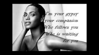 Beyonce & Alejandro Fernandez - Amor Gitano ENGLISH LYRICS ON SCREEN