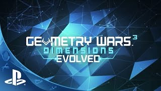 Picture of a game: Geometry Wars